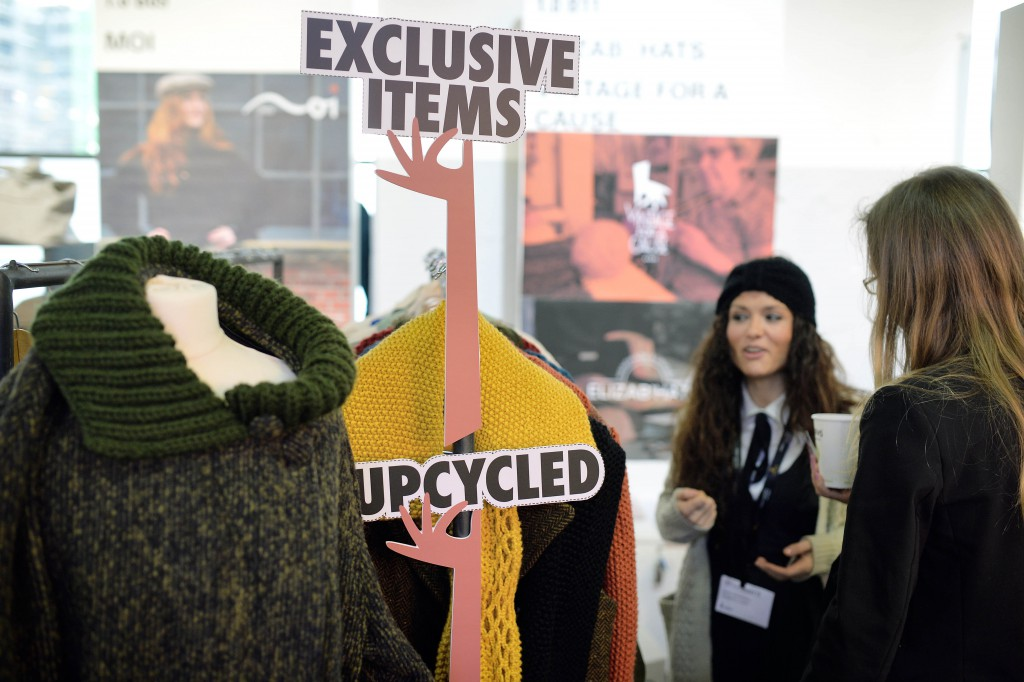 BERLIN, GERMANY - JANUARY 20: Greenshowroom/Ethical Fashion Show, at Postbahnhof Berlin, 20.01.2016: Generalview at the Ethical Fashion Show. (Photo: Thomas Lohnes/gettyimages for Messe Frankfurt)