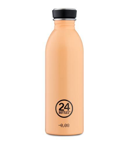 24Bottles Urban Trinkflasche Peach Orange