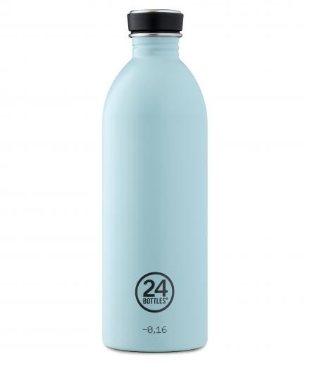 24Bottles Trinkflasche 1,0 Liter cloud blue