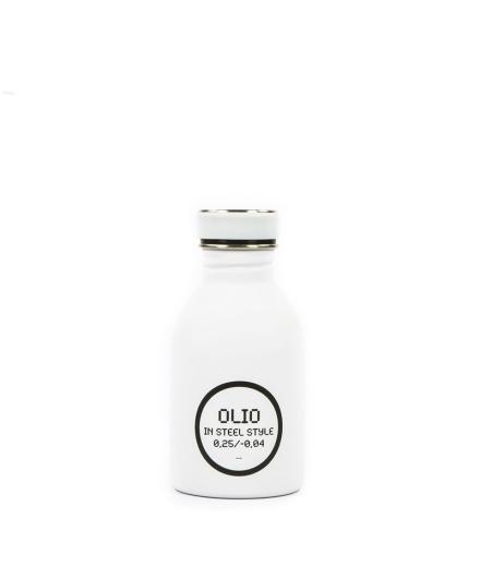 24Bottles Ölflasche Olio 0,25 Liter weiss