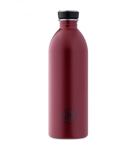 24Bottles Trinkflasche 1,0 Liter country red