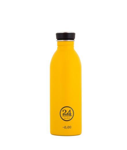 24bottles Urban Bottle Stone Finish Stahl kratzfest 0,5 Liter
