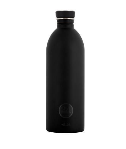 24Bottles Trinkflasche 1,0 Liter tuxedo black