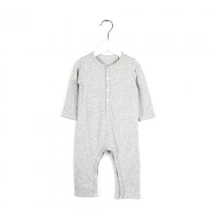 IMPS&ELFS Overall Long Sleeve Feather Grey Stripe Melange | 62