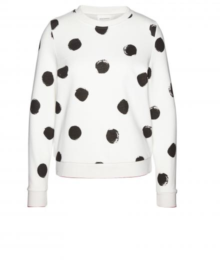Armedangels Philomena Big Spots Off White | S