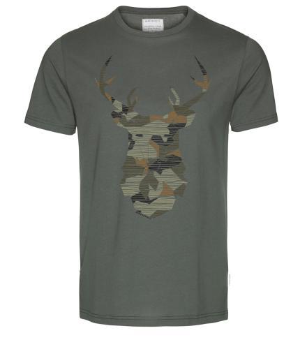 ARMEDANGELS James No Deer Here khaki | M