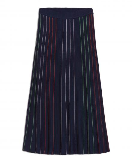 ARMEDANGELS Paana Vertical Stripes evening blue S