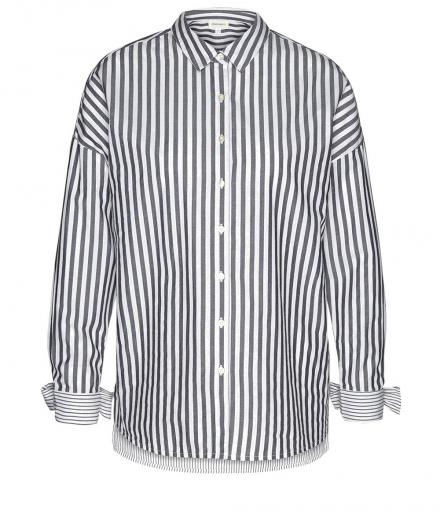 ARMEDANGELS Bennu Stripe Mix off-white black