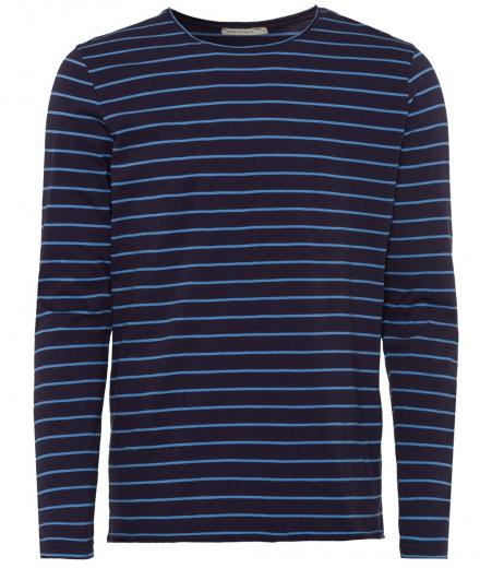 ARMEDANGELS Domian Stripes navy-duskblue | S
