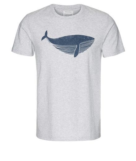 ARMEDANGELS James Big Whale Grey Melange   L