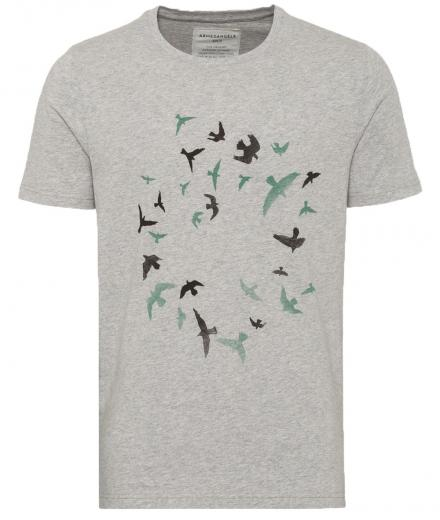 ARMEDANGELS James Circle Birds greymelange | M