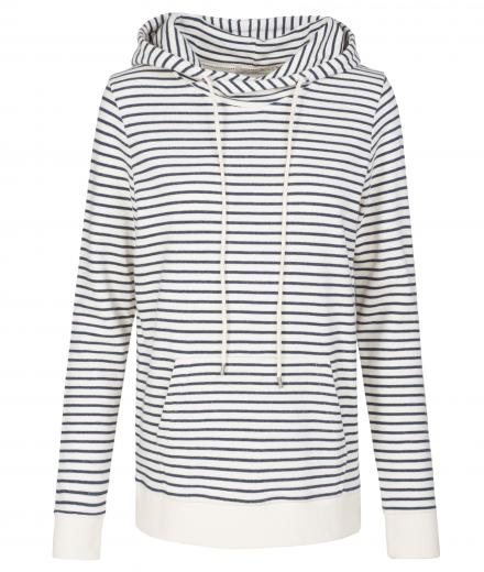 ARMEDANGELS Maleen Stripes off white navy | M
