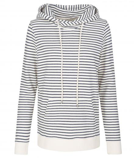 ARMEDANGELS Maleen Stripes off white navy | S