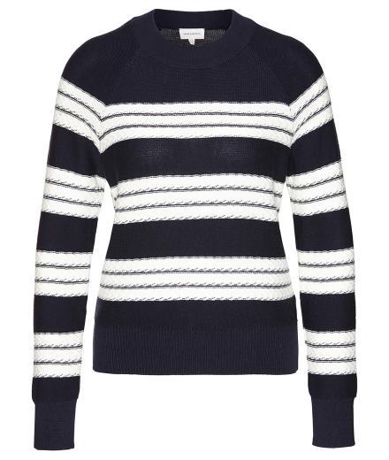 ARMEDANGELS Midori Stripes navy-off white | S