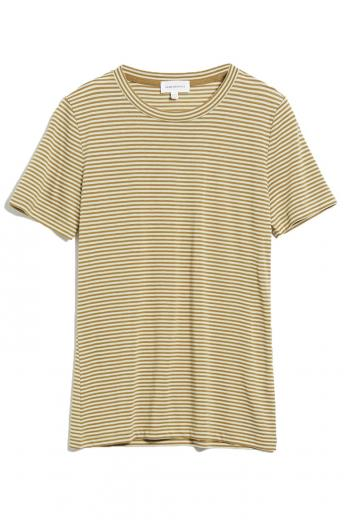 ARMEDANGELS Lidaa Ring Stripes golden khaki-pistachio | M