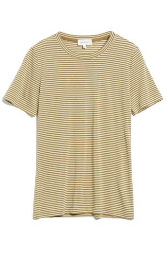 ARMEDANGELS Lidaa Ring Stripes golden khaki-pistachio   M