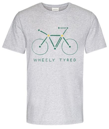 ARMEDANGELS Jaames Atomic Bike grey melange | M