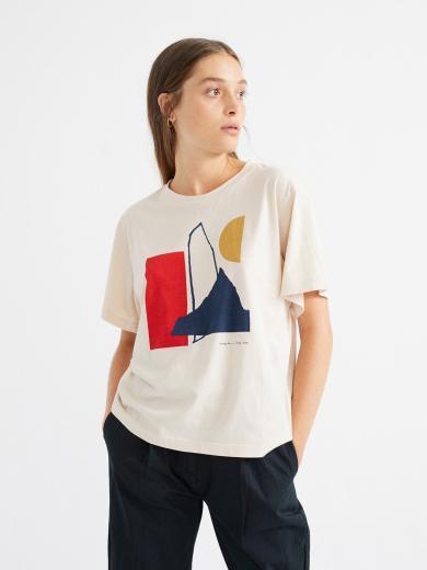 Thinking MU Abstract T-Shirt Bone