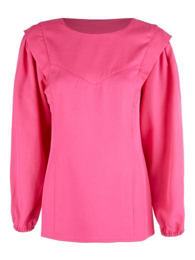 ADDITION Voluminous Blouse pink