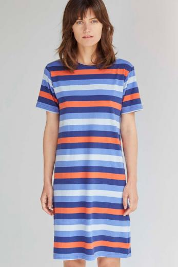ALAS Stripe T-Shirt Dress L