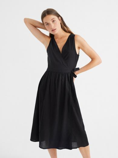 Thinking MU Amapola Dress black