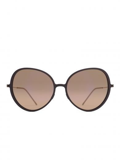 weareannu Cateye 03 L Dark Brown / Brown / Gold