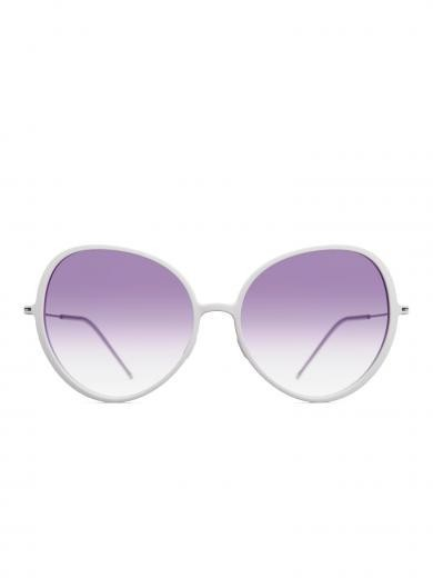 weareannu Cateye 03 L Light Grey / Purple Gradient / Raw