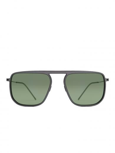weareannu Square 05 L Dark Grey / Dark Green / Raw