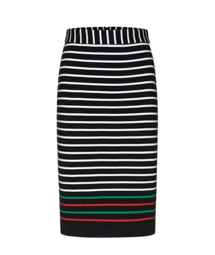 ARMEDANGELS Agataa Contrast Stripes black | L