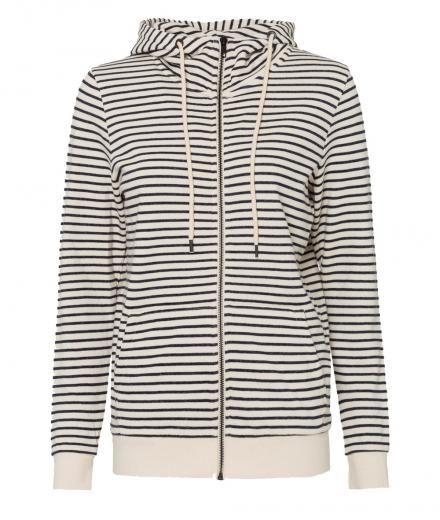 ARMEDANGELS Anouk Stripes off white navy | M