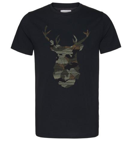 ARMEDANGELS James No Deer Here black   M