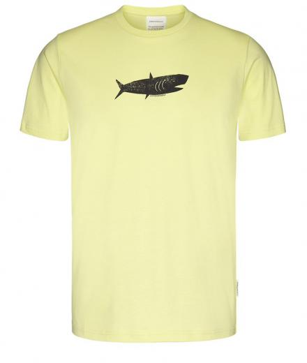 ARMEDANGELS Jaames Big Fish limelight yellow | L