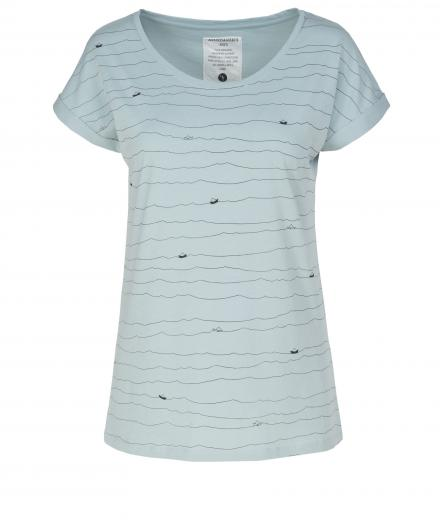 ARMEDANGELS Liv Paper Boats Faded Mint | XS