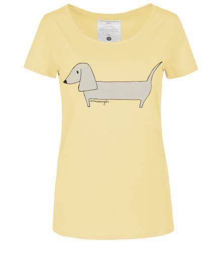 ARMEDANGELS Mari Wiener Dog muted yellow | S