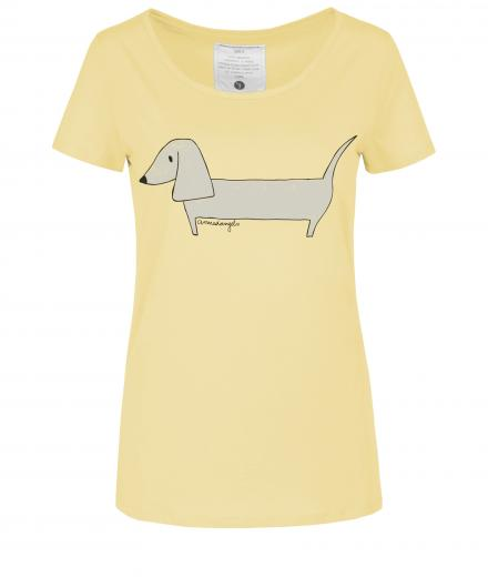 ARMEDANGELS Mari Wiener Dog muted yellow | L