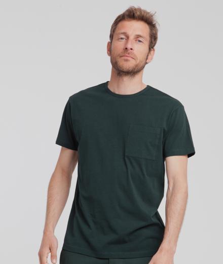 Thinking MU Pocket T-Shirt Scarab Green | M
