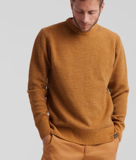 Thinking MU Miki Sweater Brown Sugar