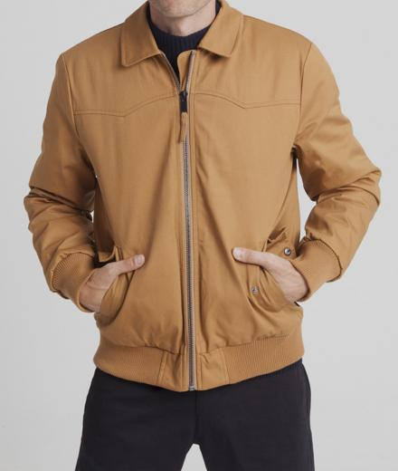 Thinking MU Harry Jacket brown sugar