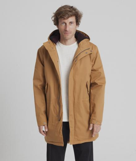 Thinking MU Peps Parka Brown Sugar