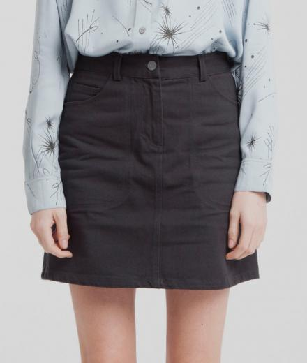 Thinking MU Marsha Short Skirt Phantom | M