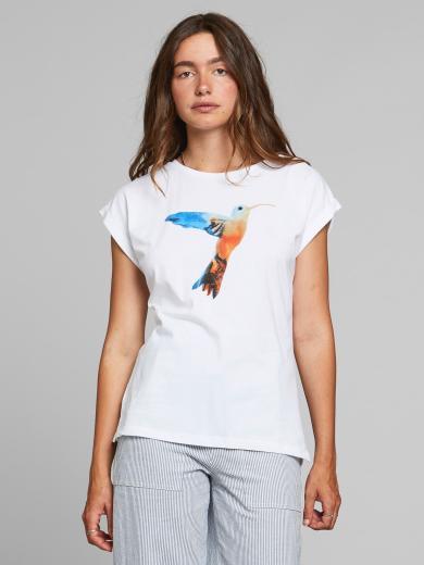 DEDICATED T-Shirt Visby Painted Hummingbird
