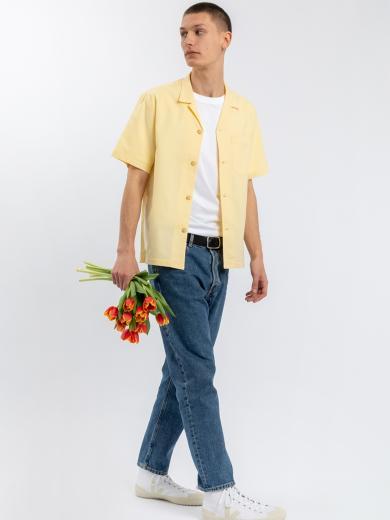 Rotholz Bowling Shirt Lemon Yellow