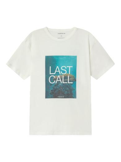 Thinking MU Last Call T-Shirt White