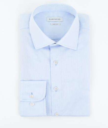 CARPASUS Hemd Classic Slim Fit hellblau