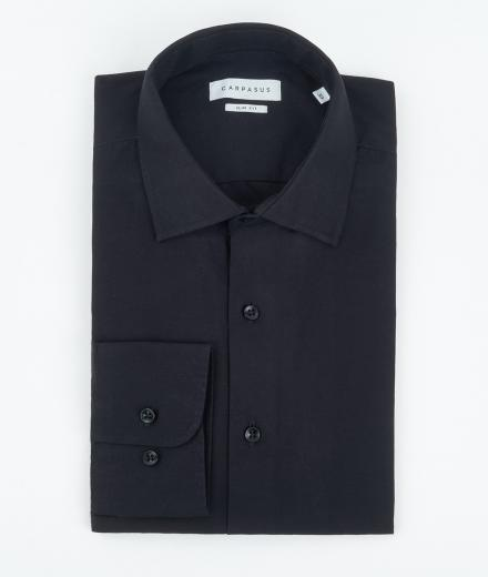 CARPASUS Hemd Classic Slim Fit schwarz | 41