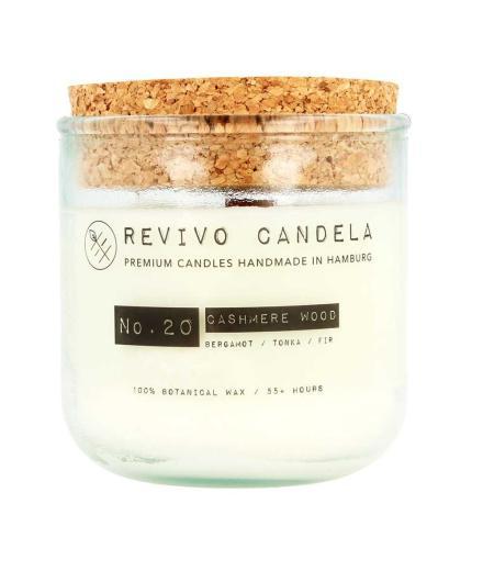 REVIVO CANDELA No. 20 Cashmere Wood