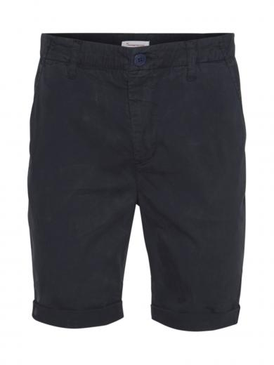 Knowledge Cotton Apparel CHUCK regular chino shorts Total Eclipse