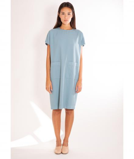 CUS Mafalda Dress Azure