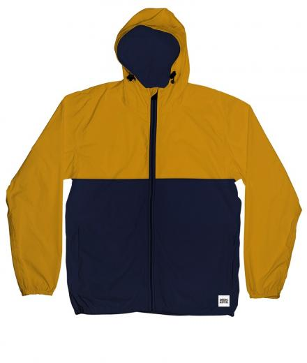 DEDICATED Windbreaker Skara Split mustard | L