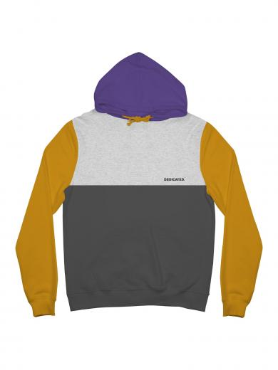 DEDICATED Hoodie Falun Split Golden Yellow